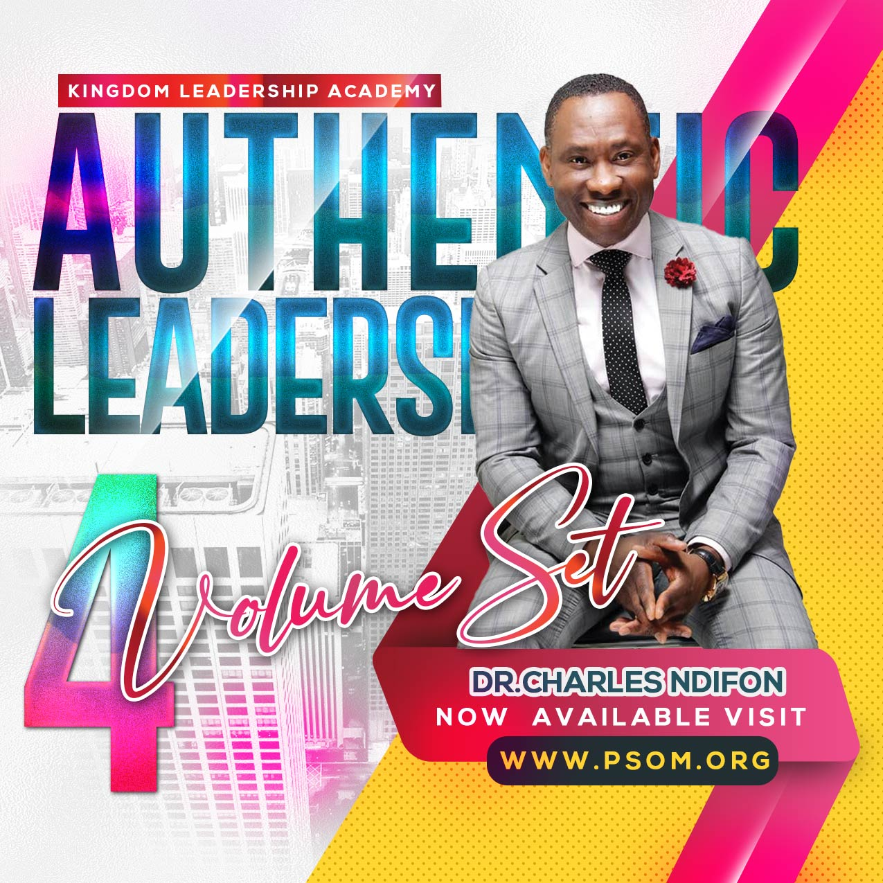 Authentic Leadership 1.0 - 4 Session Volume