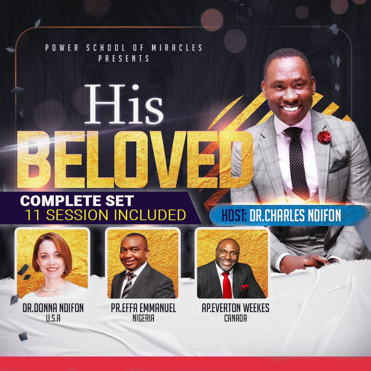 His Beloved - Complete Volume Set