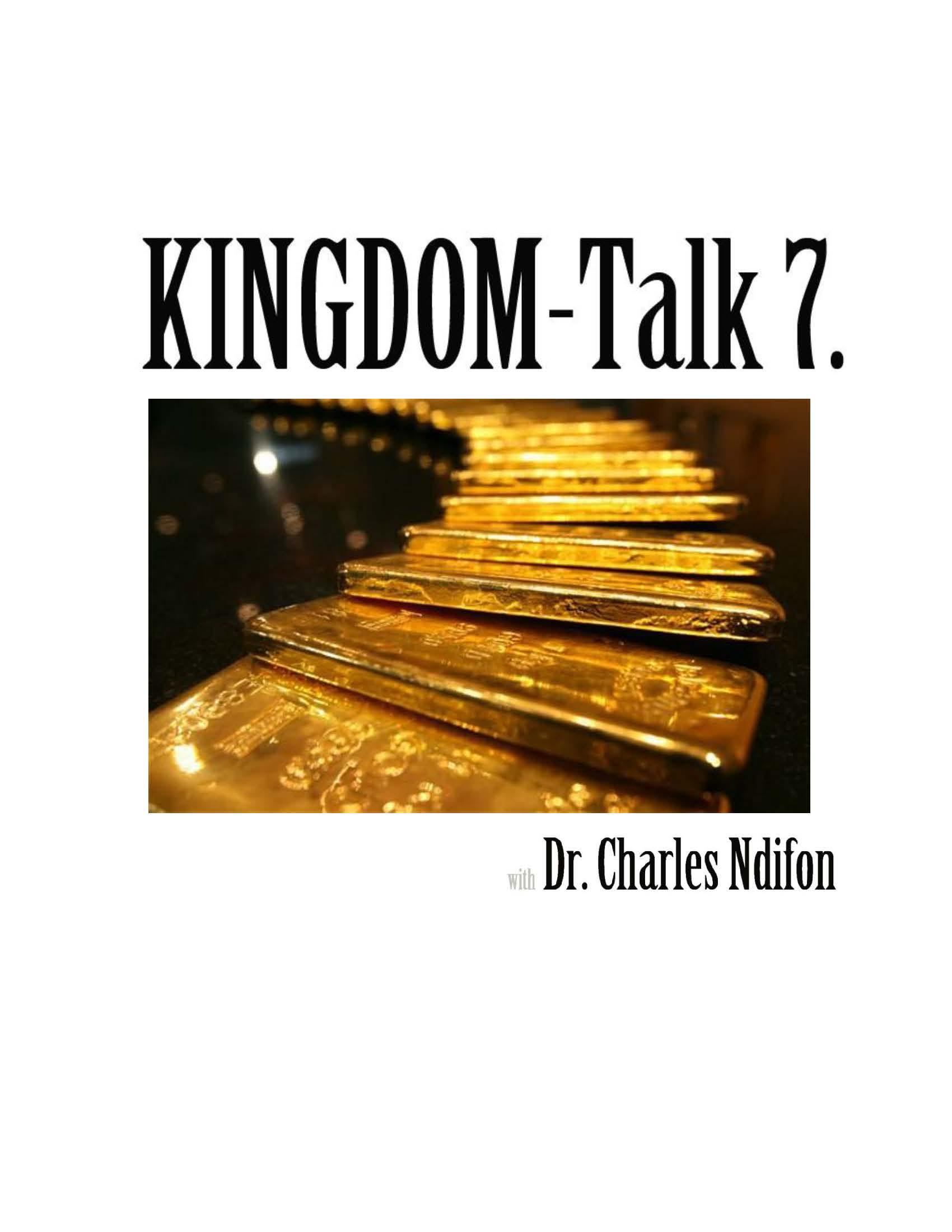 The Kingdom Talk Series - Book 1 - 9