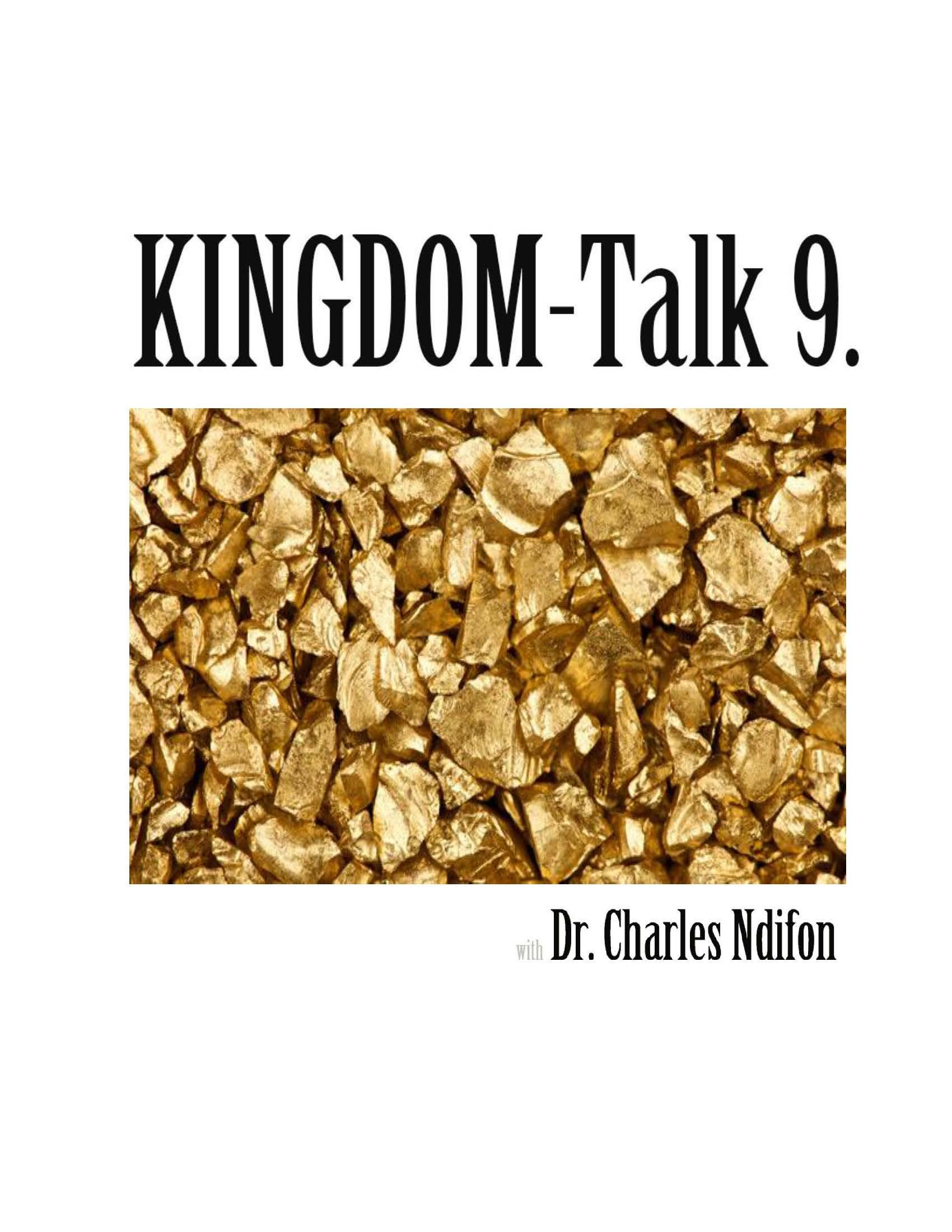The Kingdom Talk Series - Book 1 - 9