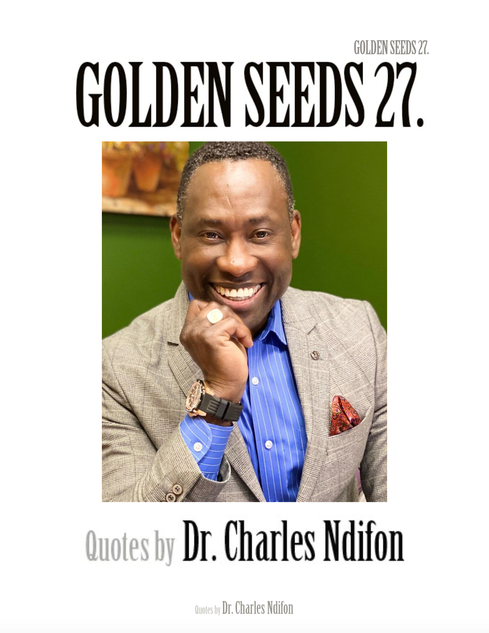 Golden Seeds 27
